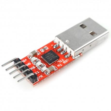 مبدل USB به TTL با تراشه CP2102