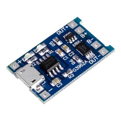 TP4056 CHARGER MODULE + Protection Board